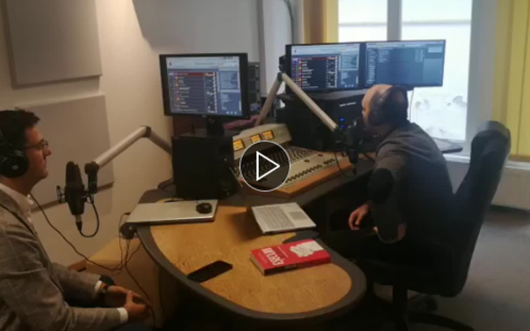 Vlad Sarca, the founder of EGV International, had an interesting discussion with Ciprian Aron, journalist at Radio Transilvania